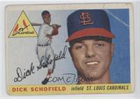 Dick Schofield [Good to VG‑EX]