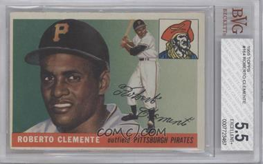 1955 Topps #164 - Roberto Clemente [BVG 5.5]