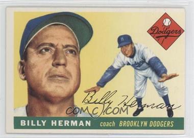 1955 Topps #19 - Billy Herman
