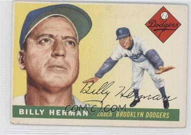 1955 Topps #19 - Billy Herman
