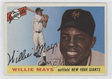 1955 Topps #194 - Willie Mays