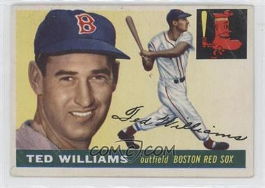 1955 Topps #2 - Ted Williams