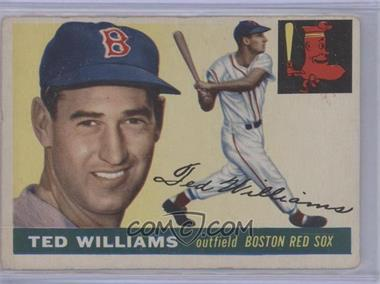 1955 Topps #2 - Ted Williams [GoodtoVG‑EX]