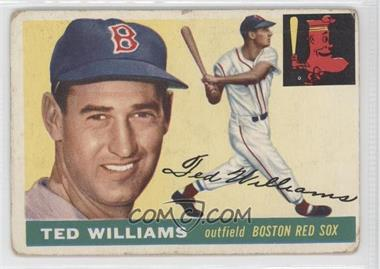 1955 Topps #2 - Ted Williams [Good to VG‑EX]