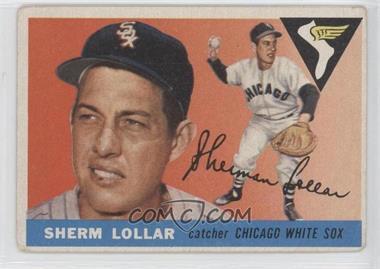 1955 Topps #201 - Sherm Lollar