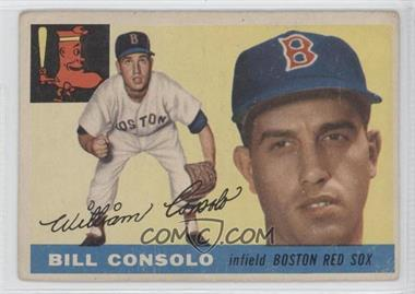 1955 Topps #207 - Billy Consolo [GoodtoVG‑EX]