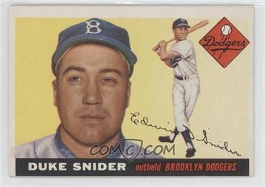 1955 Topps #210 - Duke Snider