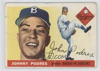 Johnny Podres [GoodtoVG‑EX]