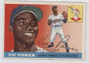 1955 Topps #30 - Vic Power