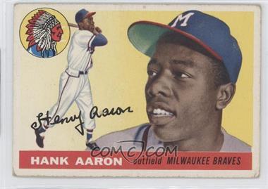 1955 Topps #47 - Hank Aaron