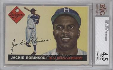 1955 Topps #50 - Jackie Robinson [BVG 4.5]