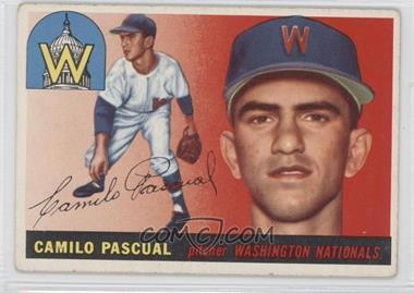 1955 Topps #84 - Camilo Pascual