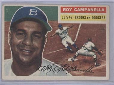 1956 Topps - [Base] #101.1 - Roy Campanella (Gray Back) [GoodtoVG‑EX]