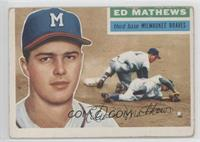 Eddie Mathews (White Back) [Good to VG‑EX]