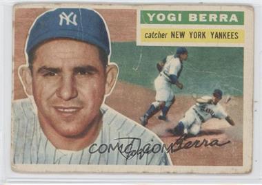 1956 Topps - [Base] #110.1 - Yogi Berra (Gray Back) [GoodtoVG‑EX]