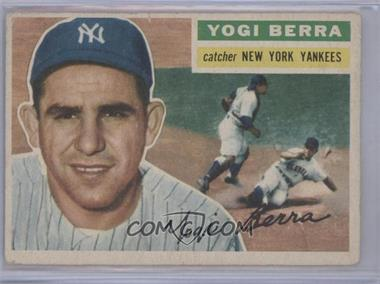 1956 Topps - [Base] #110.1 - Yogi Berra (Gray Back) [Good to VG‑EX]