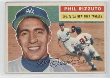 1956 Topps - [Base] #113.1 - Phil Rizzuto (Grey Back)