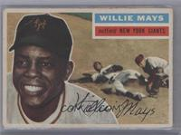 Willie Mays (Gray Back) [Good to VG‑EX]