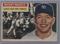 Mickey Mantle (Gray Back) [Poor]