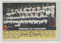 Brooklyn Dodgers Team (grey back) [Good to VG‑EX]
