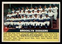 Brooklyn Dodgers Checklist (white back) [EXMT]