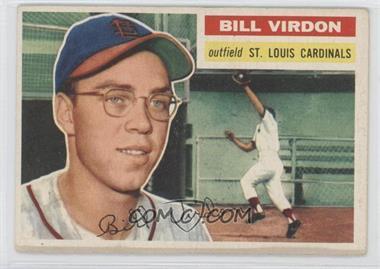 1956 Topps - [Base] #170.1 - Bill Virdon (Gray Back)
