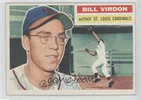 Bill Virdon (White Back)