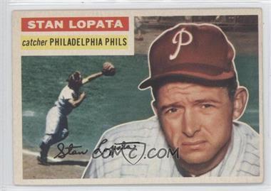 1956 Topps - [Base] #183 - Stan Lopata