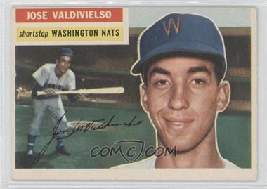 1956 Topps - [Base] #237 - Jose Valdivielso
