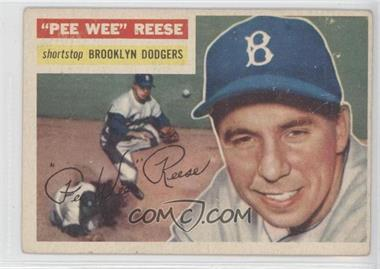 1956 Topps - [Base] #260 - Pee Wee Reese [Good to VG‑EX]