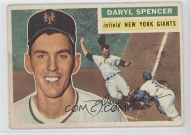 1956 Topps - [Base] #277 - Daryl Spencer [GoodtoVG‑EX]