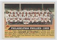 Philadelphia Phillies Team (White Back, Team Name and Date) [Good to …