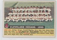 Cleveland Indians Team (White Back, Team Name and Year)