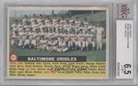 Baltimore Orioles Team Grey Back [BVG 6.5]