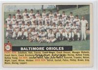 Baltimore Orioles Team (White Back, Team Name Centered) [Good to VG&#…