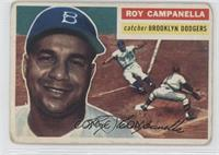 Roy Campanella White Back