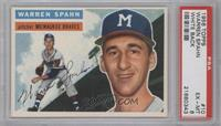 Warren Spahn (White Back) [PSA 6]