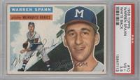Warren Spahn (White Back) [PSA 3.5]
