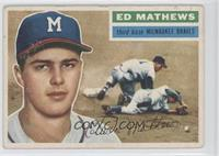 Eddie Mathews (Gray Back) [Good to VG‑EX]