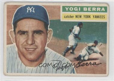 1956 Topps #110.1 - Yogi Berra (Gray Back) [Good to VG‑EX]
