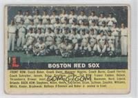 Boston Red Sox Team (Gray Back) [Good to VG‑EX]