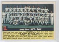 Boston Red Sox Team (Gray Back)