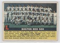 Boston Red Sox Team (Grey Back) [Good to VG‑EX]