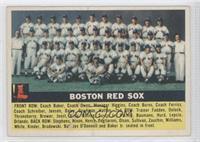 Boston Red Sox Team (Grey Back) [GoodtoVG‑EX]