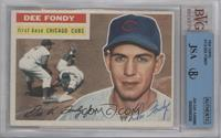 Dee Fondy (grey back) [BVG/JSA Certified Auto]