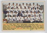 Chicago Cubs Team (white back/team name left) [GoodtoVG‑EX]