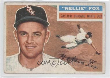 1956 Topps #118 - Nellie Fox [GoodtoVG‑EX]