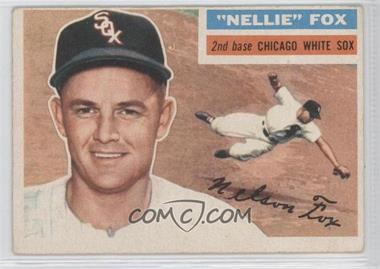 1956 Topps #118.1 - Nellie Fox (Gray Back)