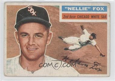 1956 Topps #118.1 - Nellie Fox (Gray Back) [Good to VG‑EX]