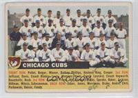 Chicago Cubs Team [Good to VG‑EX]